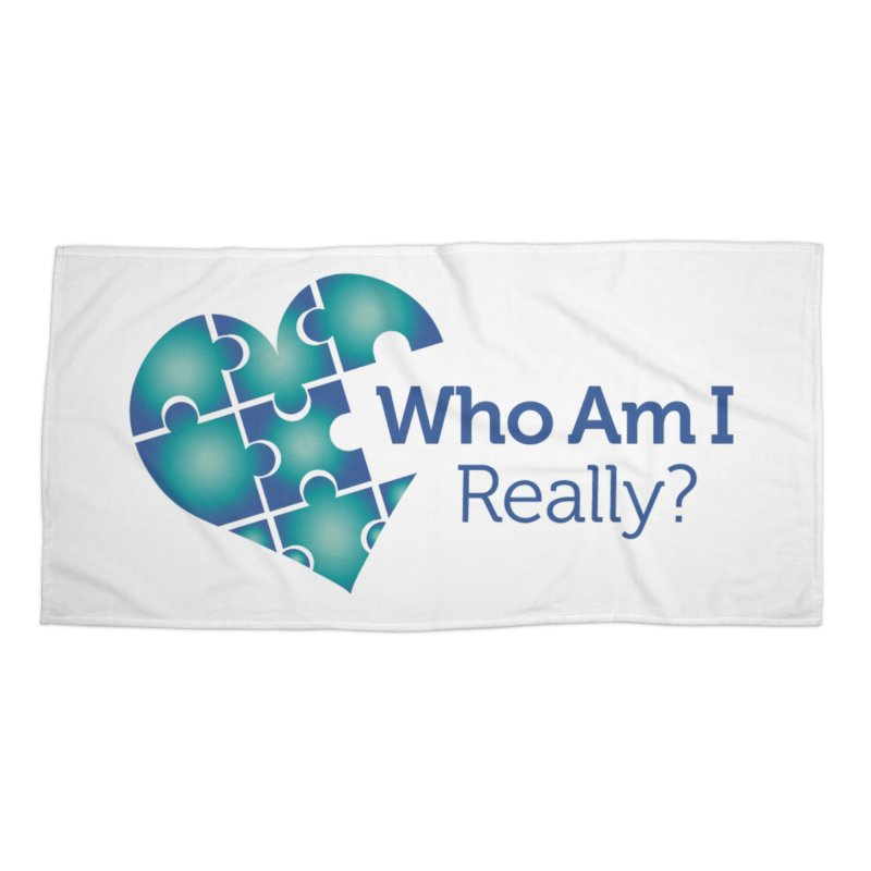 Who Am I Really Accessories Beach Towel by Damon Davis's Shop