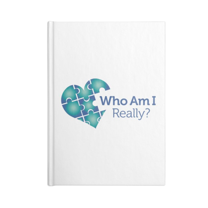 Who Am I Really Accessories Notebook by Damon Davis's Shop