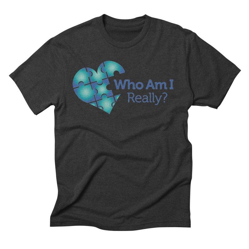 Who Am I Really Men's T-Shirt by Damon Davis's Shop