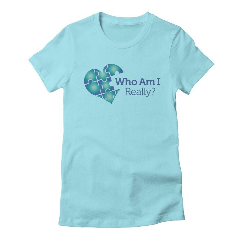 Who Am I Really Women's T-Shirt by Damon Davis's Shop