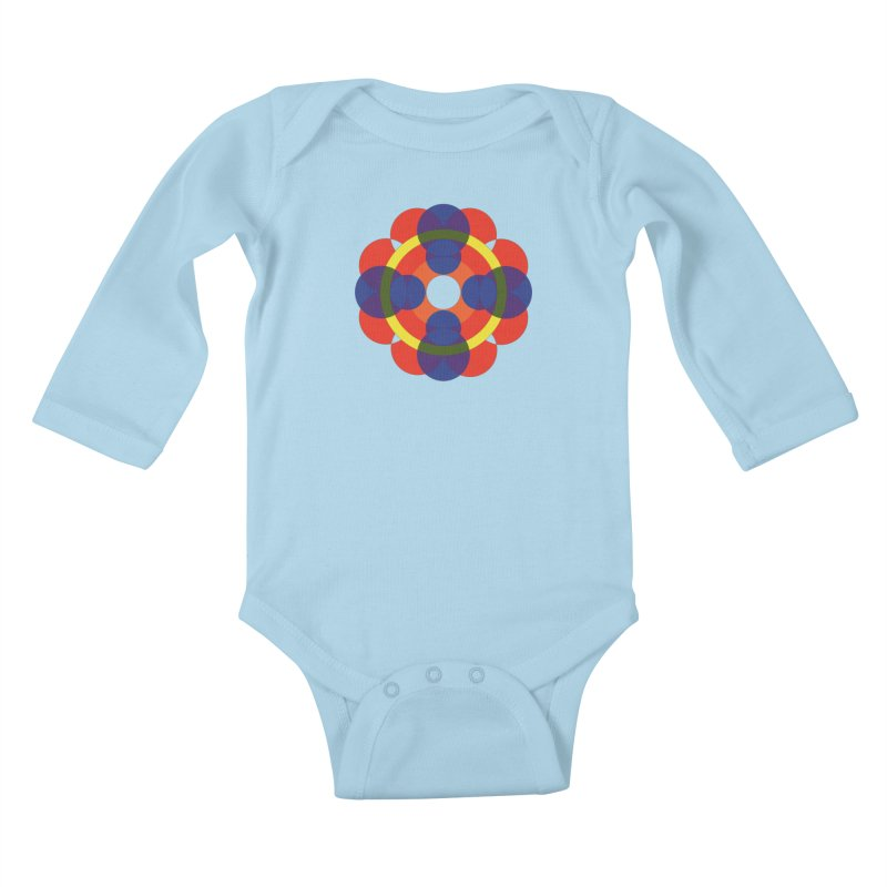 Roundabout Kids Baby Longsleeve Bodysuit by Damon Davis's Shop