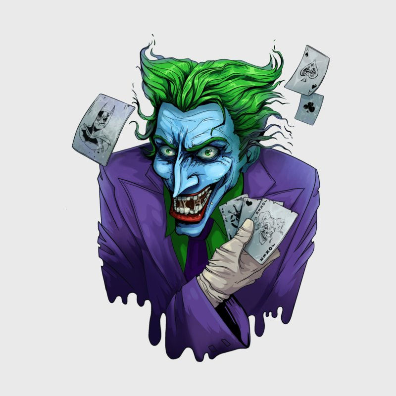 Joker None  by Diana's Artist Shop