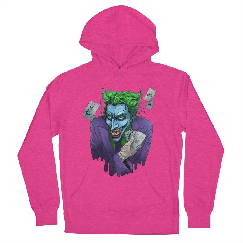 Joker Women's Pullover Hoody by Diana's Artist Shop