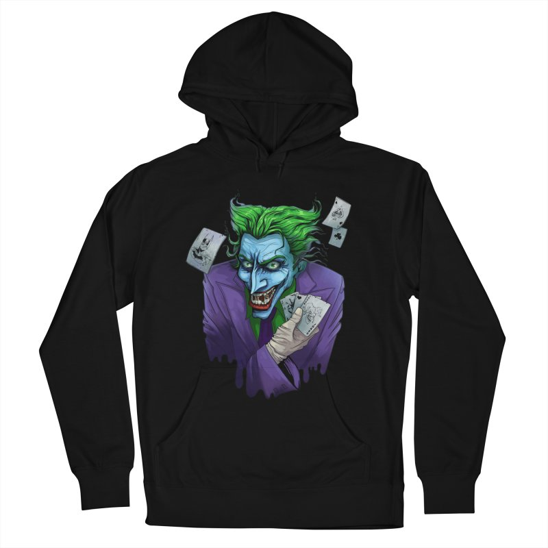Joker Women's French Terry Pullover Hoody by Diana's Artist Shop