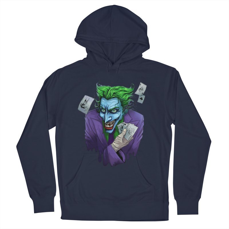 Joker Men's French Terry Pullover Hoody by Diana's Artist Shop