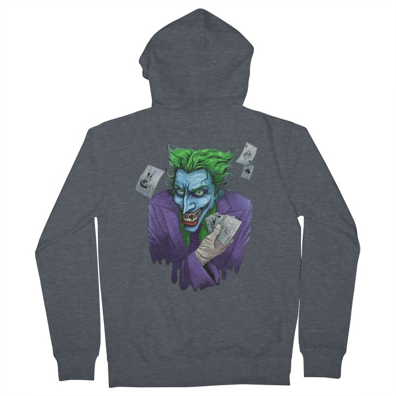 Joker Women's Zip-Up Hoody by Diana's Artist Shop