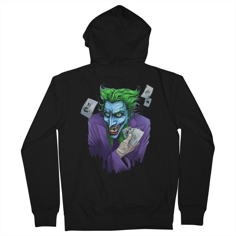 Joker Men's Zip-Up Hoody by Diana's Artist Shop