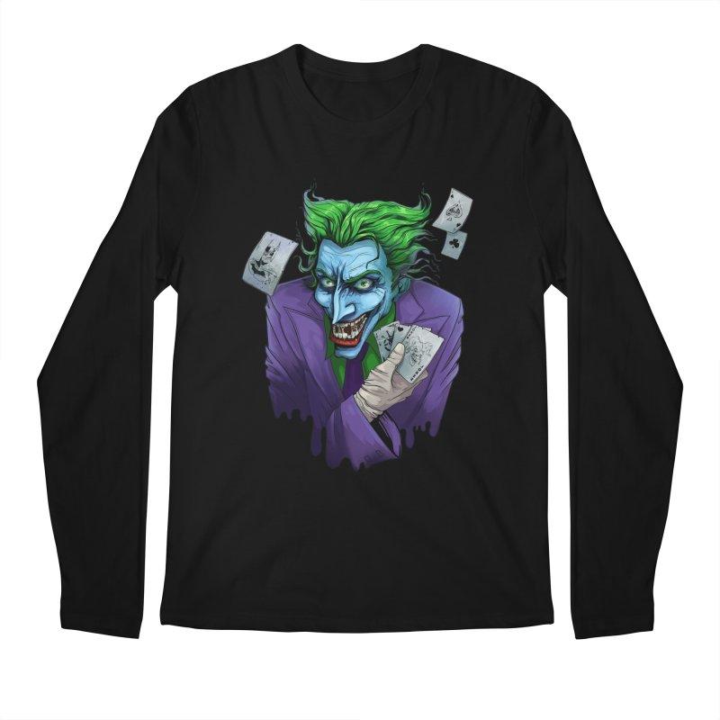 Joker Men's Longsleeve T-Shirt by Diana's Artist Shop