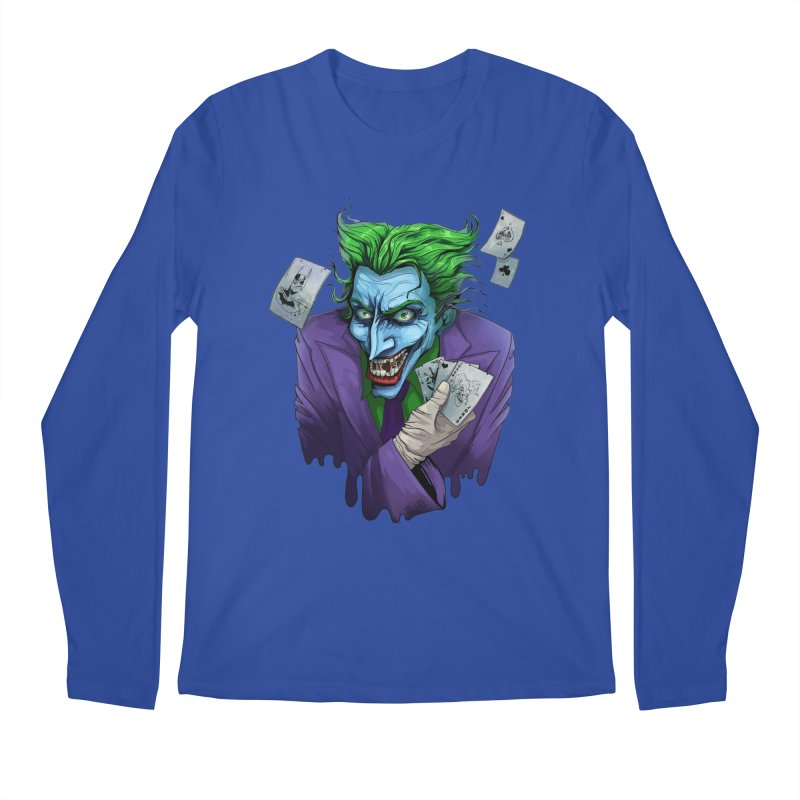 Joker Men's Longsleeve T-Shirt by Diana's Artist Shop