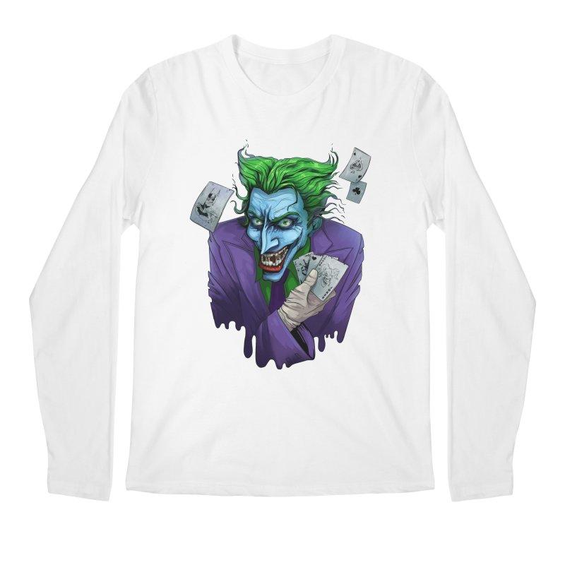 Joker Men's Regular Longsleeve T-Shirt by Diana's Artist Shop