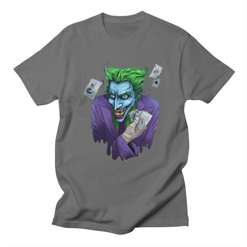 Joker Men's T-Shirt by Diana's Artist Shop