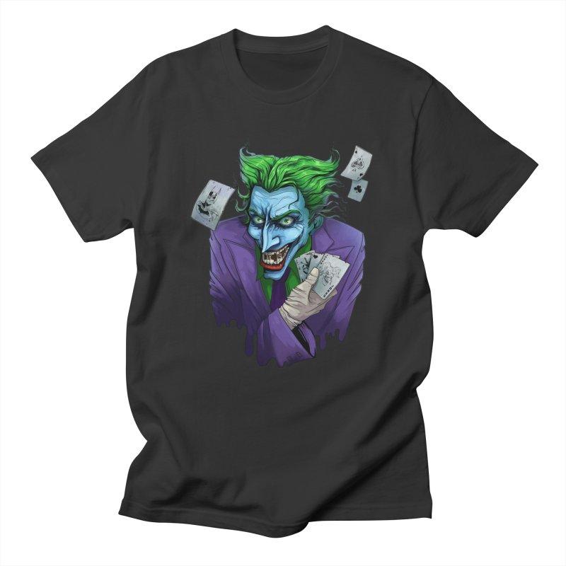 Joker Men's Regular T-Shirt by Diana's Artist Shop