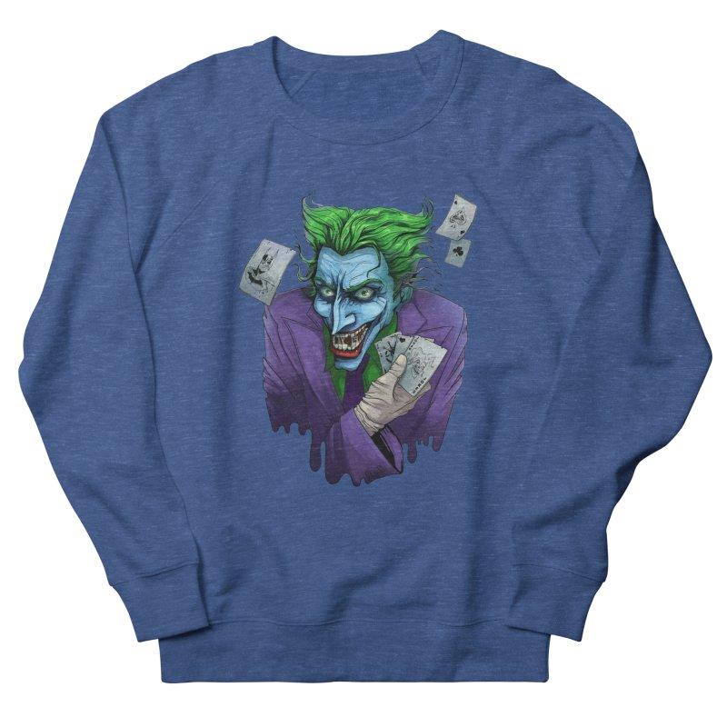 Joker Women's French Terry Sweatshirt by Diana's Artist Shop