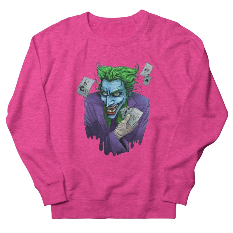 Joker Men's Sweatshirt by Diana's Artist Shop