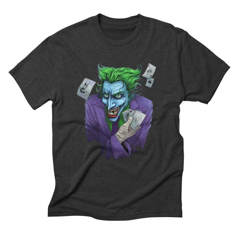 Joker Men's Triblend T-shirt by Diana's Artist Shop
