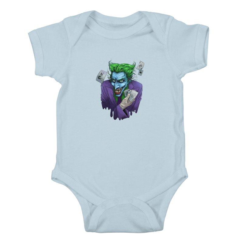 Joker Kids Baby Bodysuit by Diana's Artist Shop