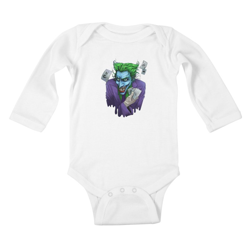 Joker Kids Baby Longsleeve Bodysuit by Diana's Artist Shop
