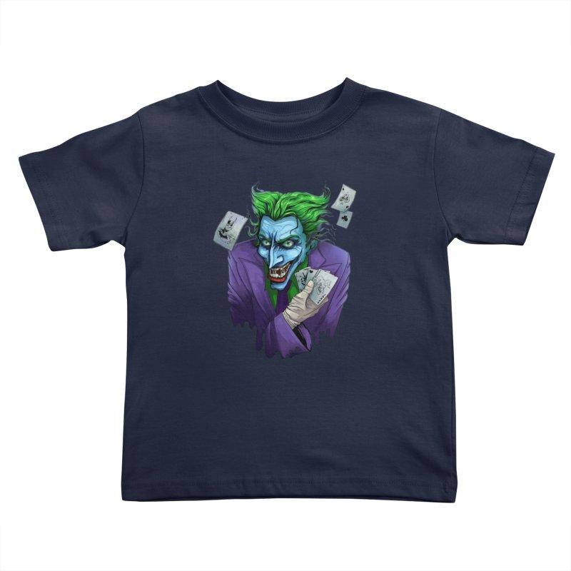 Joker Kids Toddler T-Shirt by Diana's Artist Shop