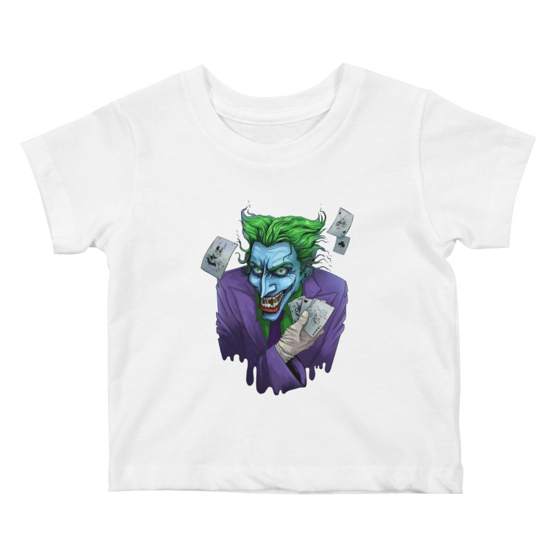 Joker Kids Baby T-Shirt by Diana's Artist Shop