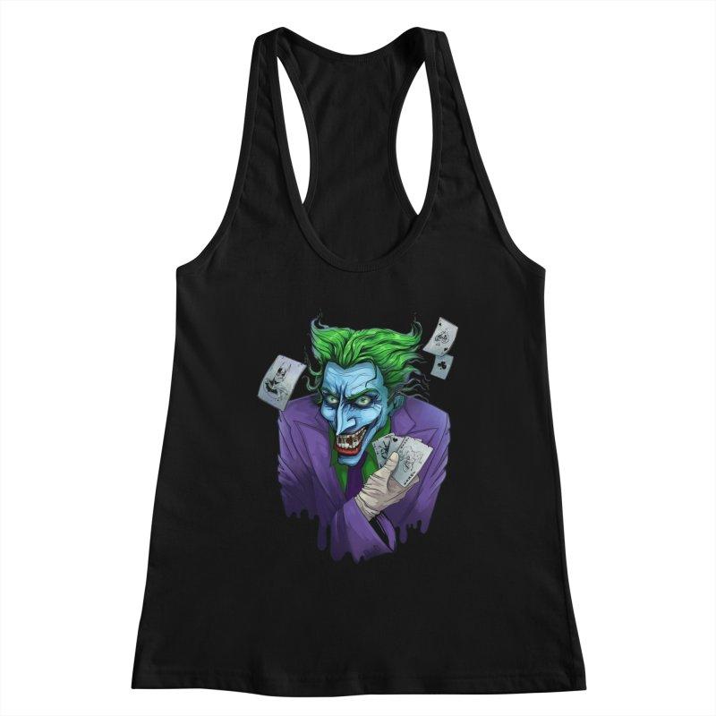 Joker Women's Tank by Diana's Artist Shop