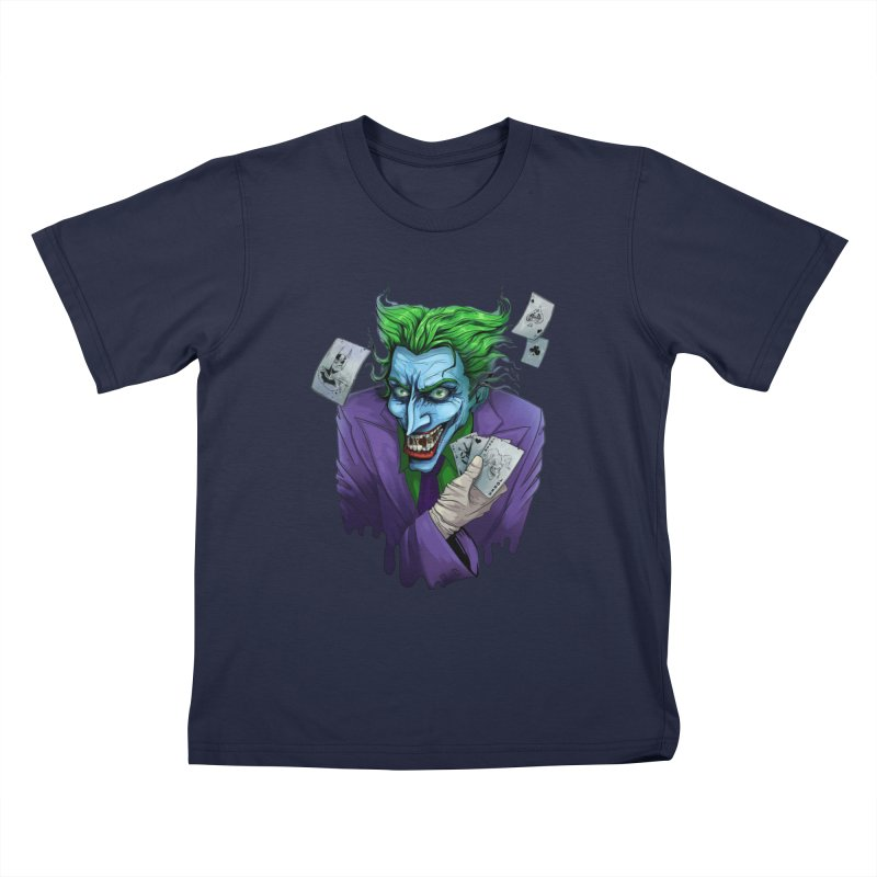 Joker Kids T-shirt by Diana's Artist Shop