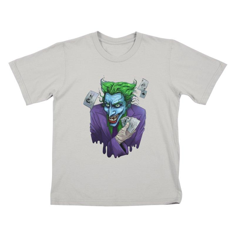 Joker Kids T-shirt by Diana's Artist Shop