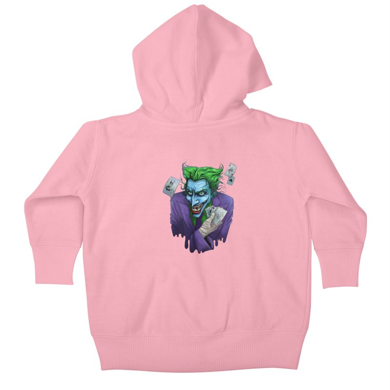 Joker Kids Baby Zip-Up Hoody by Diana's Artist Shop