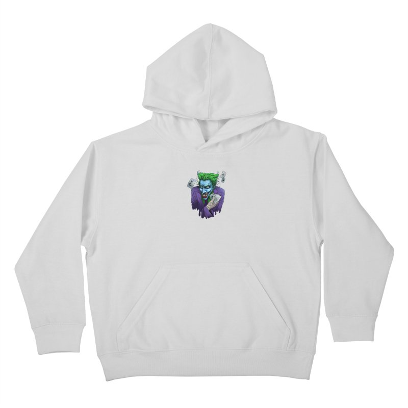 Joker Kids Pullover Hoody by Diana's Artist Shop