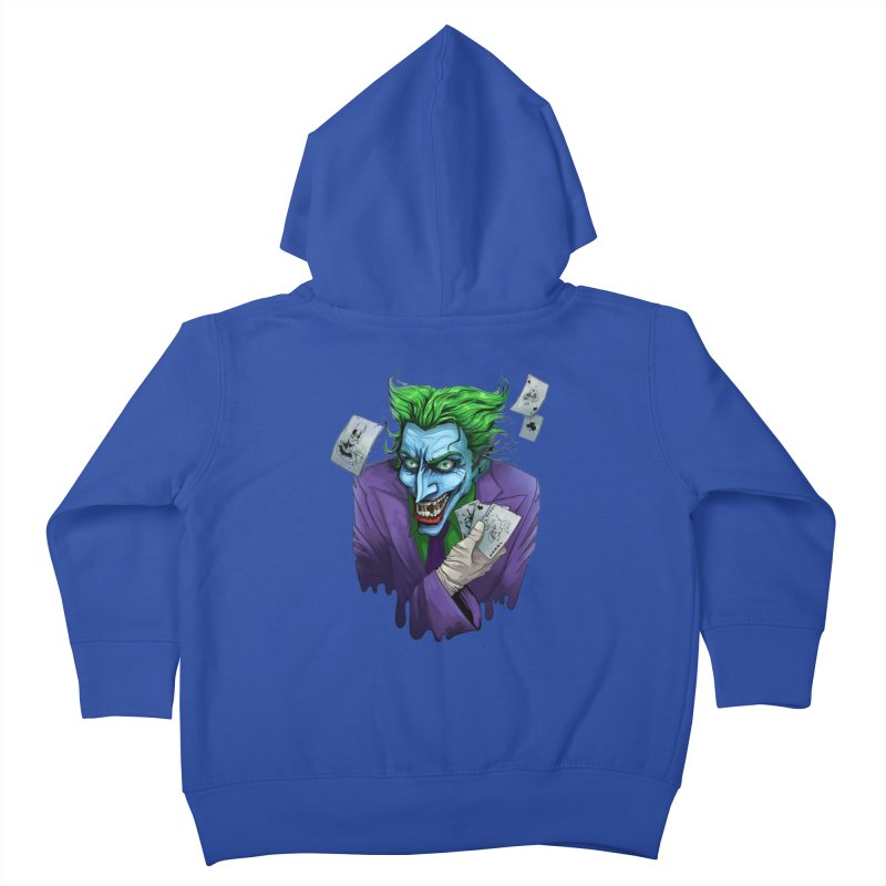 Joker Kids Toddler Zip-Up Hoody by Diana's Artist Shop