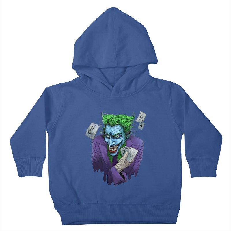 Joker Kids Toddler Pullover Hoody by Diana's Artist Shop