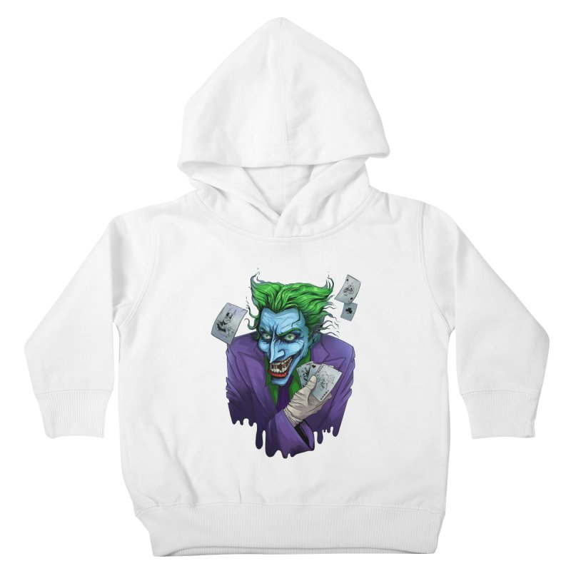 Joker Kids Toddler Pullover Hoody by Diana's Artist Shop
