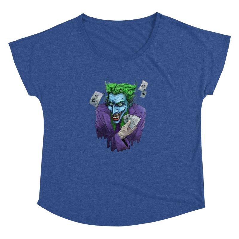 Joker Women's Dolman by Diana's Artist Shop