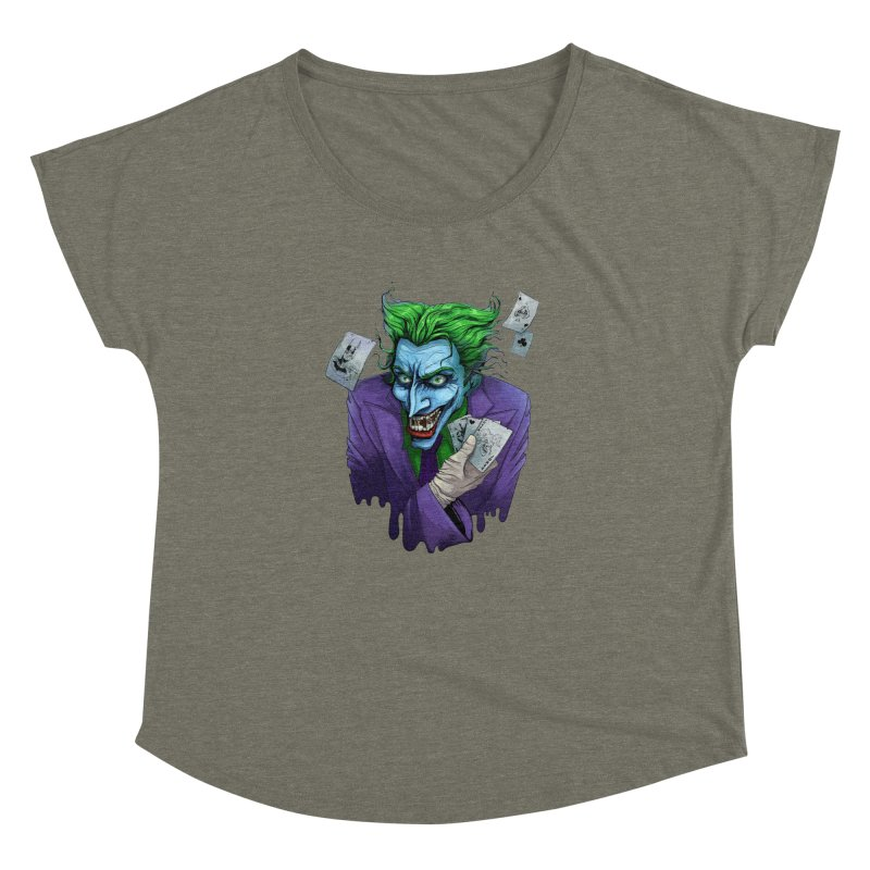 Joker Women's Dolman by Diana's Artist Shop