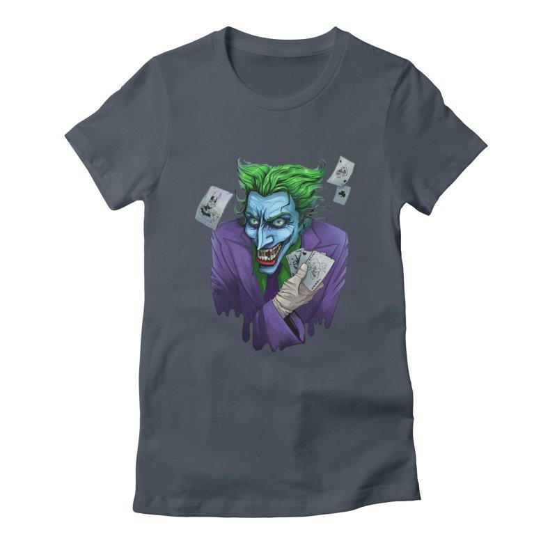 Joker Women's T-Shirt by Diana's Artist Shop
