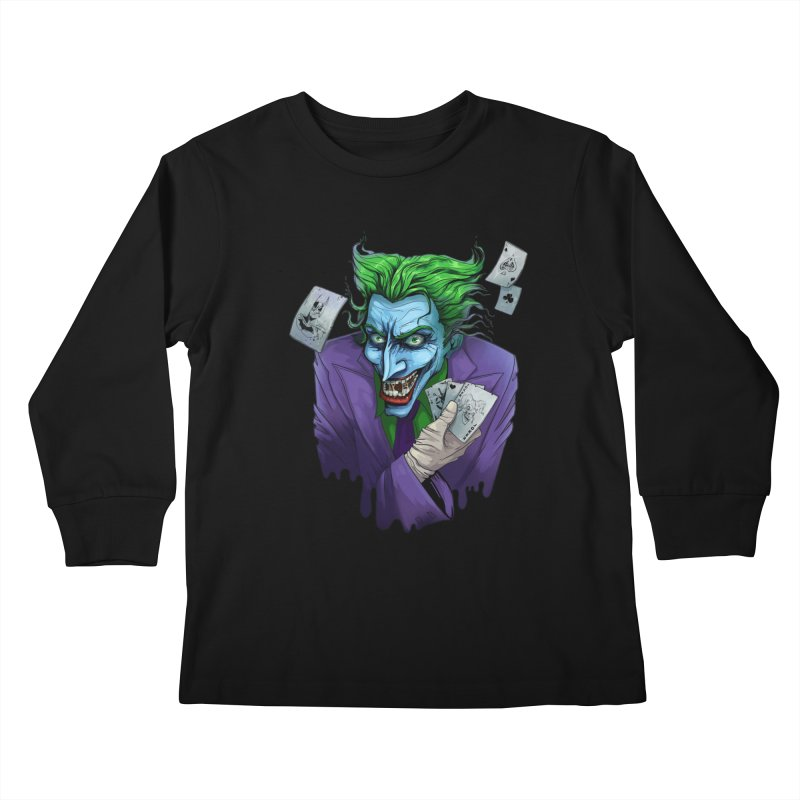 Joker Kids Longsleeve T-Shirt by Diana's Artist Shop