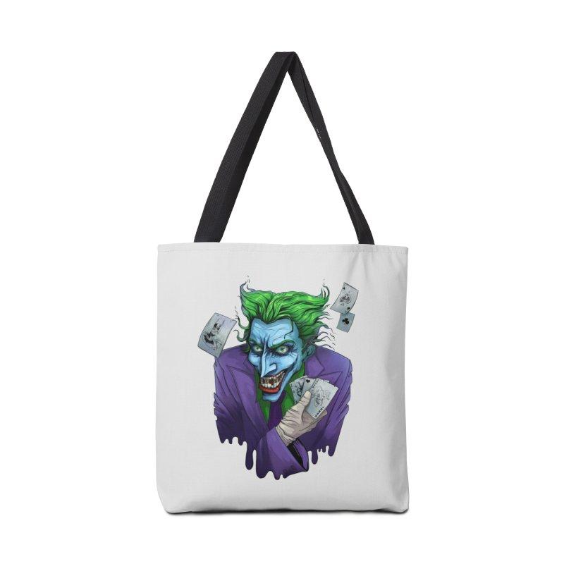 Joker Accessories Tote Bag Bag by Diana's Artist Shop