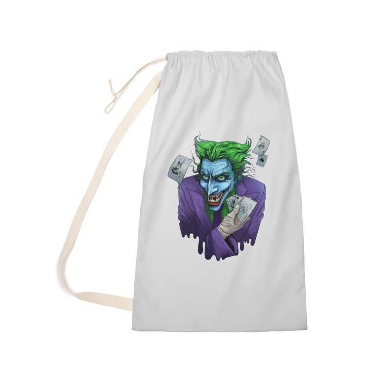 Joker Accessories Laundry Bag Bag by Diana's Artist Shop