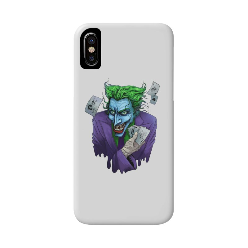 Joker Accessories Phone Case by Diana's Artist Shop