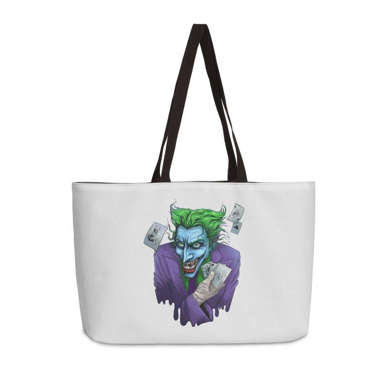 Joker Accessories Weekender Bag Bag by Diana's Artist Shop