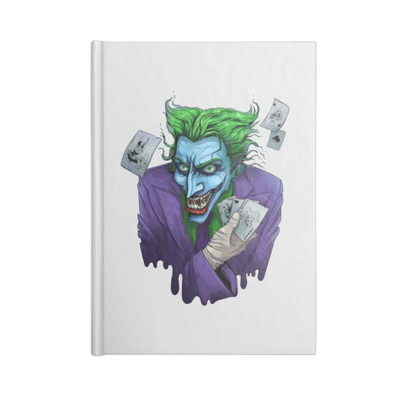 Joker Accessories Blank Journal Notebook by Diana's Artist Shop