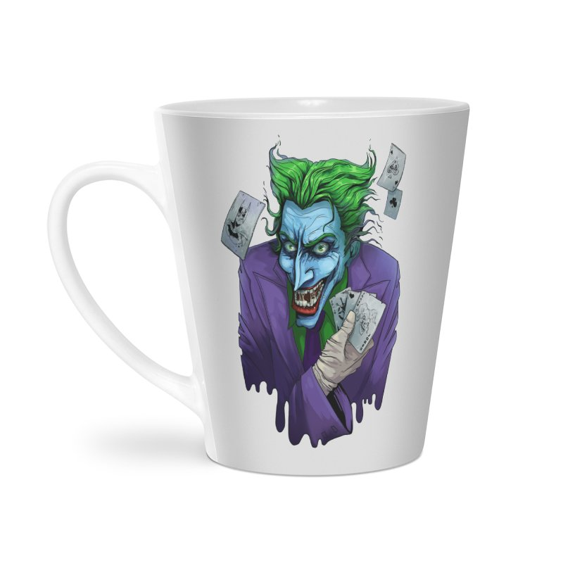 Joker Accessories Latte Mug by Diana's Artist Shop