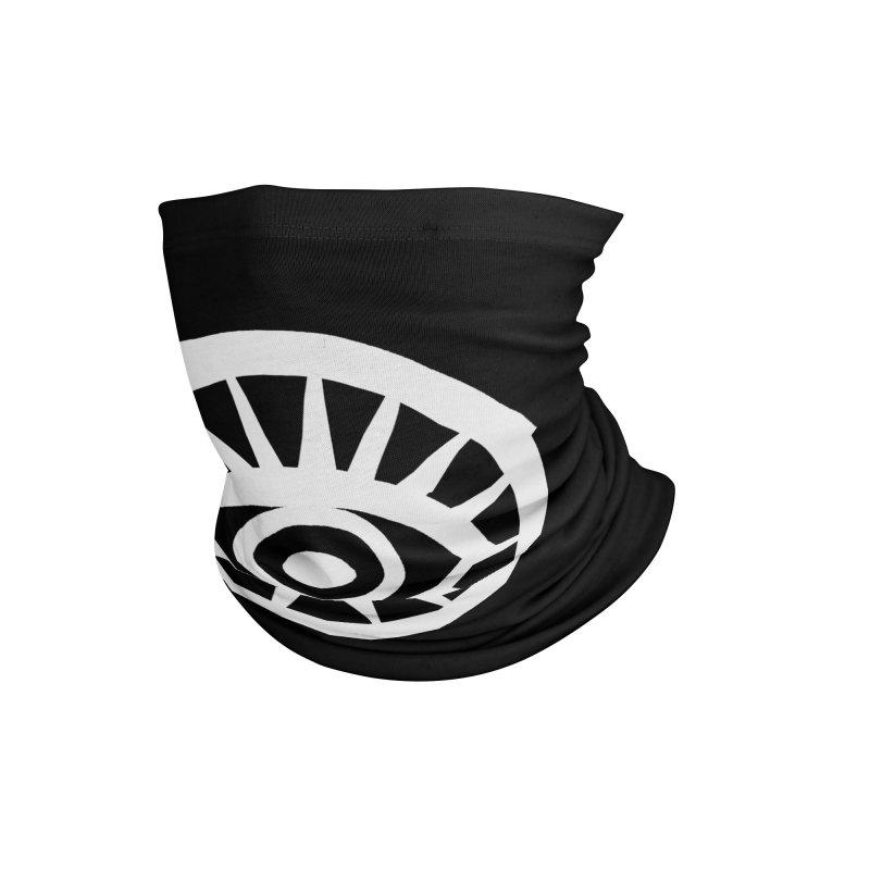 'HARPER' Eye Logo (White) Accessories Neck Gaiter by danburley's Artist Shop