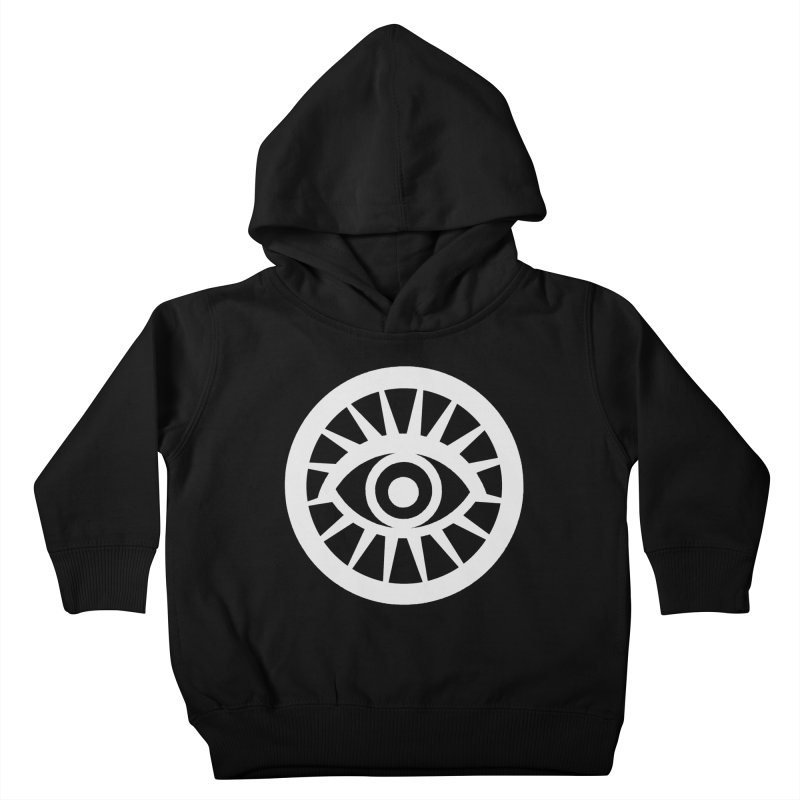 'HARPER' Eye Logo (White) Kids Toddler Pullover Hoody by danburley's Artist Shop