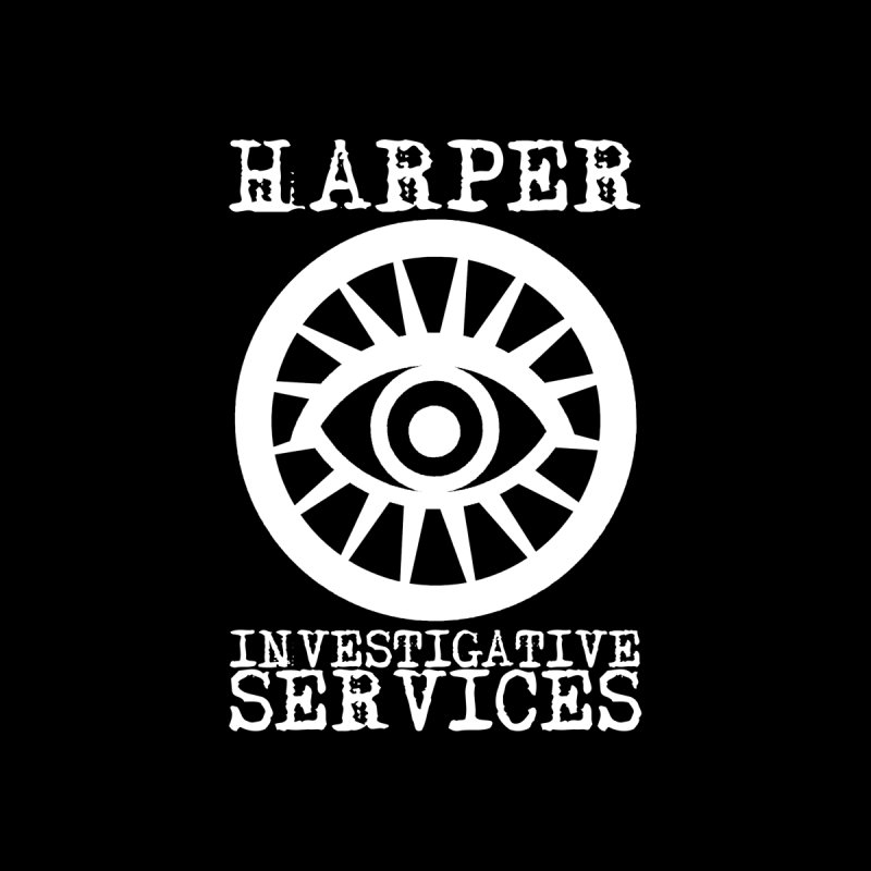 Harper Investigative Services (Dark) Women's Longsleeve T-Shirt by danburley's Artist Shop