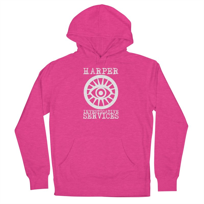 Harper Investigative Services (Dark) Women's French Terry Pullover Hoody by danburley's Artist Shop