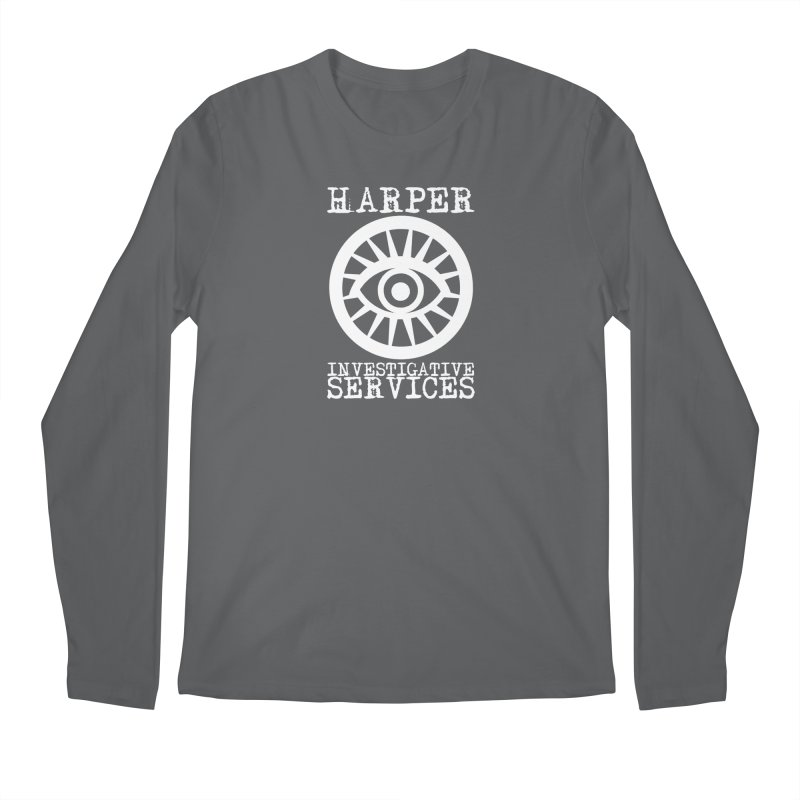 Harper Investigative Services (Dark) Men's Longsleeve T-Shirt by danburley's Artist Shop