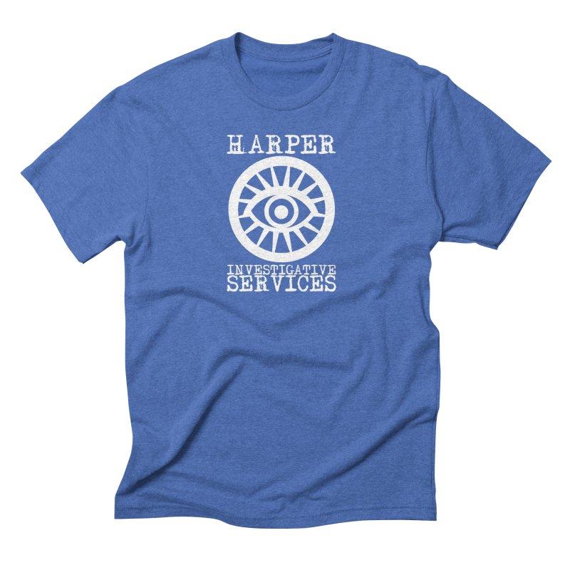 Harper Investigative Services (Dark) Men's T-Shirt by danburley's Artist Shop