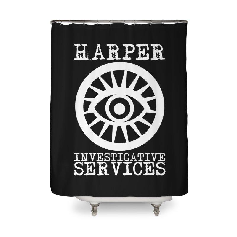 Harper Investigative Services (Dark) Home Shower Curtain by danburley's Artist Shop
