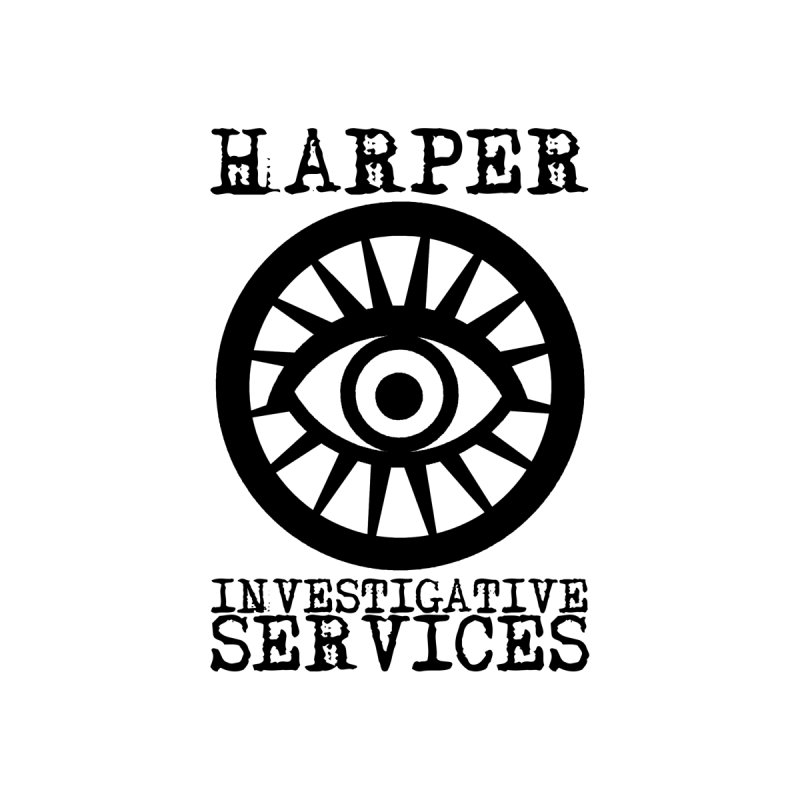 Harper Investigative Services (Light) Accessories Bag by danburley's Artist Shop