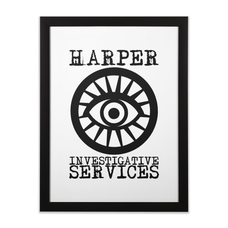 Harper Investigative Services (Light) Home Framed Fine Art Print by danburley's Artist Shop
